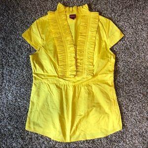 Yellow Merona Blouse